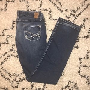 Dark Stella Skinny Jeans